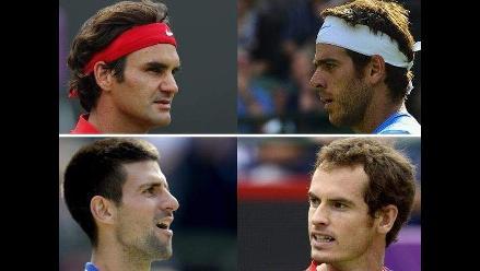 Conozca a los semifinalistas del tenis masculino en JJOO Londres 2012
