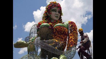 Gigantes llevarán alegría y color al Festival de Flores de Medellín