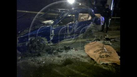 Caída de vehículo de puente Bolognesi causó dos muertos en Surco