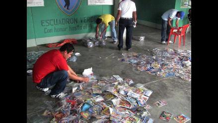 Chiclayo: Incautan discos de ´Batman´ pirateados en la feria Balta
