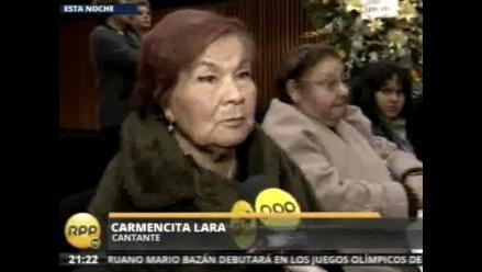 Carmencita Lara: El bolero sigue vigente por Pedro Otiniano