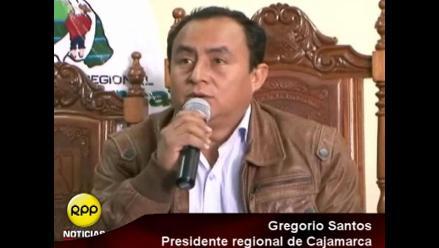 Gregorio Santos: Quieren imponer proyecto con una ocupación militar