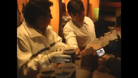 Huancayo: Discoteca vende licor en condiciones insalubres