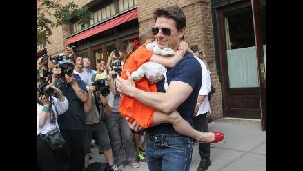 Tom Cruise pagará 40 mil dólares al año para la educación de su hija