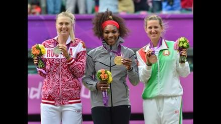 FOTOS: Lo mejor del triunfo de Serena Williams sobre Sharapova en Londres