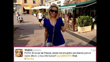 Shakira reaparece en Twitter tras rumores sobre posible embarazo