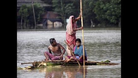Al menos 31 muertos y 40 desaparecidos por fuertes lluvias en la India