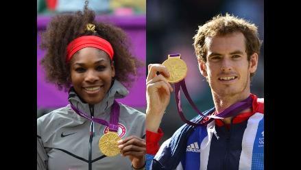 FOTOS: Estos son los tenistas que lograron una medalla en Londres 2012