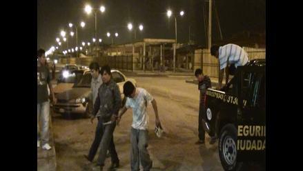 Intervienen pandilla integrada por menores de edad en Arequipa