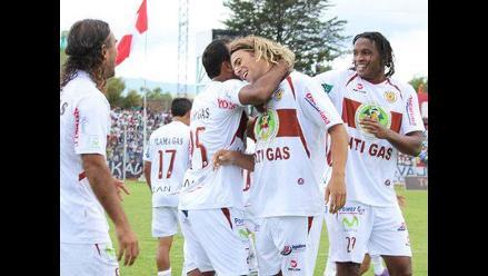 Inti Gas ganó 2-1 a Cobresol en Moquegua por el Torneo Descentralizado