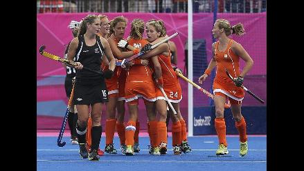 Repase la clasificación de Holanda a la final del hockey en Londres