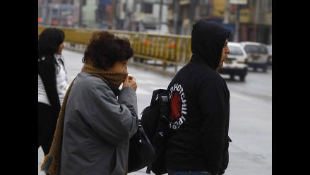 Lima registró hoy la temperatura más baja en lo que va del año