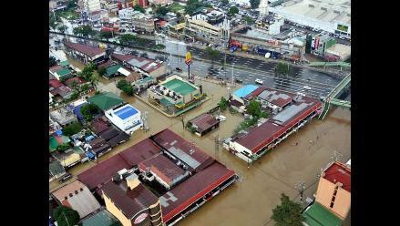 20 Muertos y 1 millón de afectados por inundaciones en Filipinas