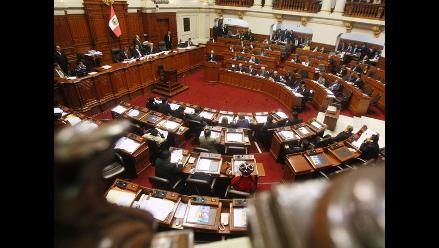 Pleno de Congreso debatirá pedido sobre delegación de facultades
