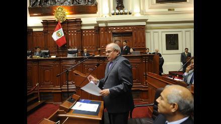 Sesión del Pleno del Congreso pasó a ser secreta a pedido de ministros