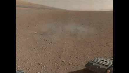 Robot Curiosity envía la primera foto panorámica a color de Marte