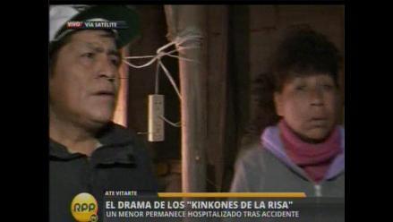 Continúa drama de familia tras accidente en Javier Prado