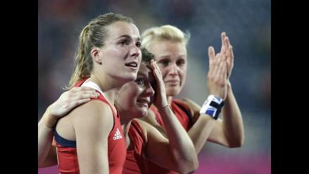 Gran Bretaña consigue medalla de bronce en hockey femenino en Londres