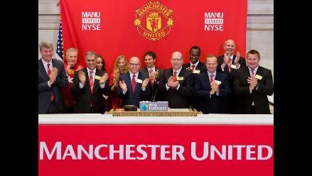 Manchester United debuta en bolsa de Nueva York como el más valioso