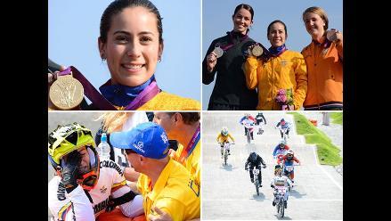 Mariana Pajón baña de oro a Colombia en Juegos Olímpicos Londres 2012