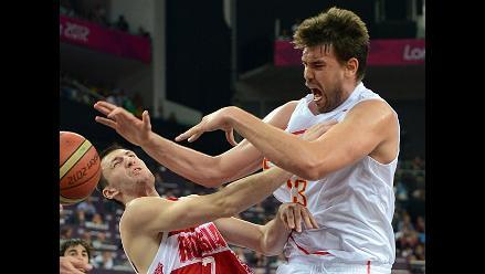 Marc Gasol: España tuvo paciencia para vencer a Rusia en Londres 2012