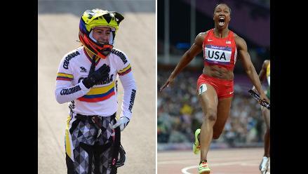 Colombia asombra con su primer oro y Estados Unidos bate récord mundial