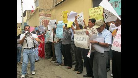 Chiclayo: Trabajadores de Cofopri demandan incorporación a planilla