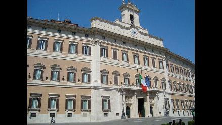 Italiano se quemó a lo bonzo frente al Parlamento de su país