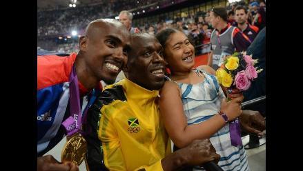 Usain Bolt cerró su participación en Londres 2012 con nuevo oro en 4x100