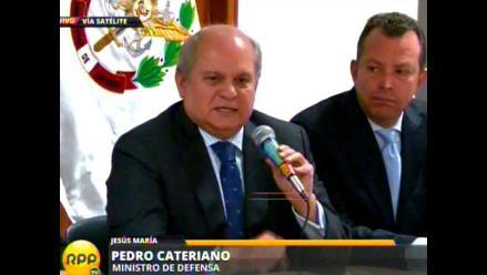 Ministro Cateriano: FFAA no tienen opinión política