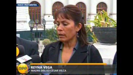 Madre de Vilca indignada con revelaciones de suboficial Millones
