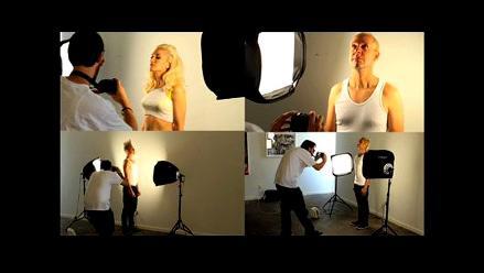 Detrás de cámara de la sesión para portada de nuevo disco de No Doubt