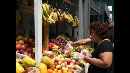 Proyectan que inflación de alimentos será 8% el 2012, pero no preocupa