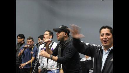 Gian Marco ensaya con Grupo 5 para concierto por sus 20 años