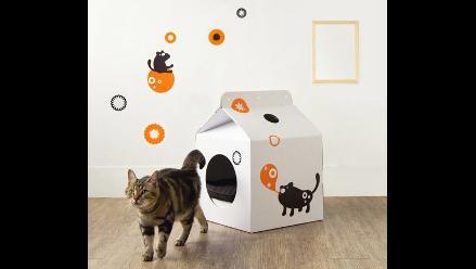 Los gatos quieren su caja de leche: Modernas casas para mascotas