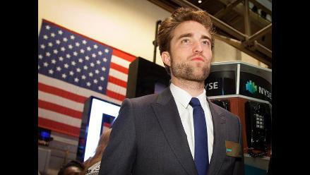 Robert Pattinson abre la bolsa de Nueva York para promocionar Cosmopolis