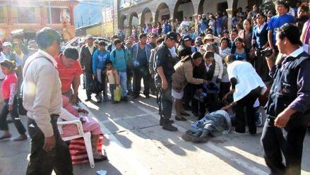 Cusco: Seis personas gravemente heridas por caballos en Calca