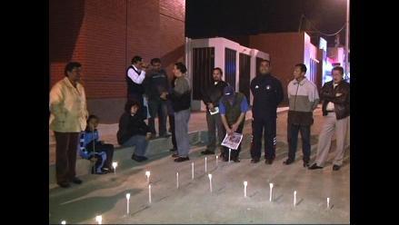 Ica: Realizan plantón y vigilia en memoria de víctimas de terremoto