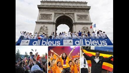 Vea la bienvenida a los medallistas olímpicos de Londres en sus países