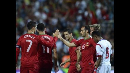 Portugal derrota a Panamá con goles de Ronaldo y Nelson Oliveira