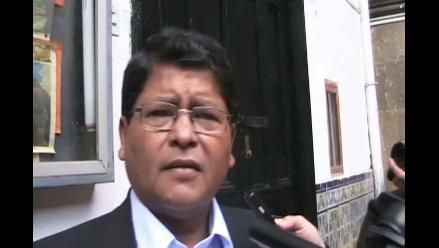 Wilfredo Saavedra: Trabajo de sacerdortes en Cajamarca ya culminó