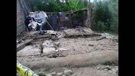 San Martín: Fuertes vientos arrasan techos de 80 viviendas en Rioja