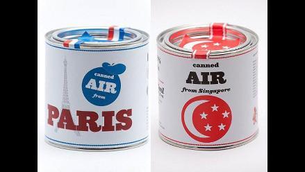 Aromas que atrapan: El aire de las ciudades ahora se vende en latas