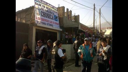 Piden a la PCM intervenir en tema limítrofe entre Chosica y San Antonio