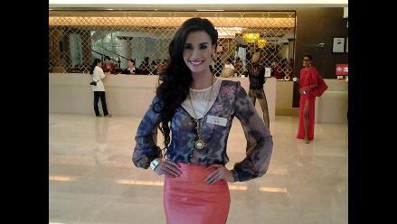 Giuliana Zevallos, lista para ir por la corona del Miss Mundo 2012