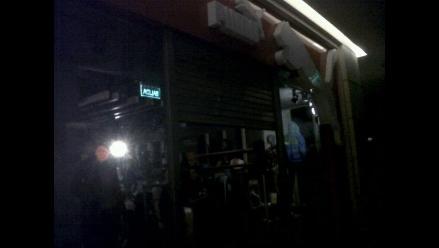 Apagón en C.C. Jockey Plaza de Surco genera molestia en usuarios