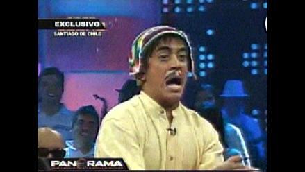 Actor chileno parodia a los peruanos con