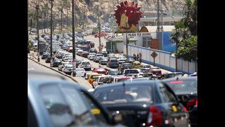 INEI: Flujo vehicular se incrementó en 9,6% en junio