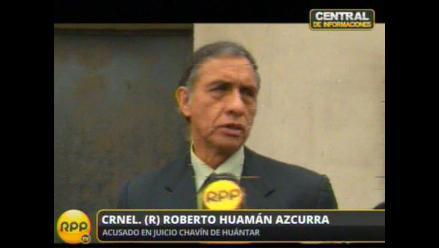 Huamán Azcurra: Soy inocente de ejecuciones extrajudiciales