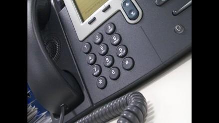 Osiptel reducirá en setiembre tarifas de telefonía fija